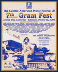 "Movie Posters:Rock and Roll, 7th Annual Gram Fest (Beathaven, 2002). Concert Poster (16"" X 20"").Rock and Roll.. ..."