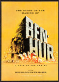 "Movie Posters:Academy Award Winners, Ben-Hur (MGM, 1959). Programs (3) (8"" X 11"") (36 Pages). AcademyAward Winners.. ... (Total: 3 Items)"
