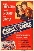 "Movie Posters:Film Noir, Criss Cross (Universal International, R-1958). Silk Screen Poster (40"" X 60""). Film Noir.. ..."