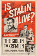 "Movie Posters:Exploitation, The Girl in the Kremlin (Universal International, 1957). Poster(40"" X 60""). Exploitation.. ..."