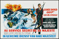 "Movie Posters:James Bond, On Her Majesty's Secret Service (United Artists, 1970). BelgianPoster (14"" X 21.25""). James Bond.. ..."