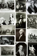 Books:Prints & Leaves, [George Washington]. Archive of Approximately 75 Photographs andImages Relating to George Washington. ...
