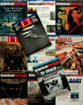 Books:Prints & Leaves, Group of Eleven Magazines from American Heritage. ...