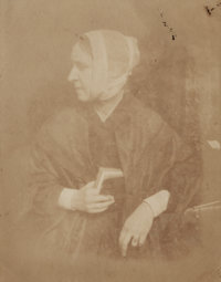 David Octavius Hill (Scottish, 1802-1870) and Robert Adamson (Scottish, 1821-1848) Mrs. Mary Watson (sister of