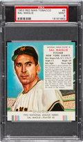 Baseball Cards:Singles (1950-1959), 1953 Red Man Sal Maglie #8 PSA Mint 9 - Highest Graded Example! ...