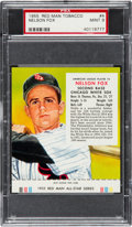 Baseball Cards:Singles (1950-1959), 1955 Red Man Nelson Fox #4 PSA Mint 9....