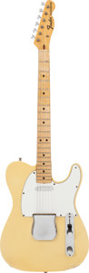 Musical Instruments:Electric Guitars, 1971 Fender Telecaster Blonde Solid Body Electric Guitar, Serial #311006....