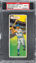 Baseball Cards:Singles (1950-1959), 1955 Topps Doubleheaders Collins/Harshman #65/66 PSA MINT 9 - PopTwo, None Higher. ...