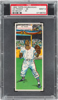 Baseball Cards:Singles (1950-1959), 1955 Topps Doubleheaders Power/Bailey #29/30 PSA MINT 9 - Pop One,None Higher. ...