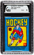Hockey Cards:Unopened Packs/Display Boxes, 1979 Topps Hockey Unopened 5-Cent Wax Pack GAI Mint 9....