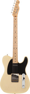 Musical Instruments:Electric Guitars, Danny Gatton's 1991 Fender Telecaster Blonde Solid Body ElectricGuitar, Serial # DG0002....