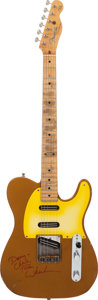 Musical Instruments:Electric Guitars, Danny Gatton's 1991 Fender Telecaster Prototype Copper Solid BodyElectric Guitar, Serial # DG0001....