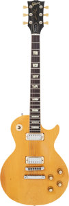 Musical Instruments:Electric Guitars, 1976 Gibson Les Paul Deluxe Natural Solid Body Electric Guitar,Serial # 00136538....