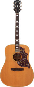 Musical Instruments:Acoustic Guitars, 1973 Gibson Hummingbird Natural Acoustic Electric Guitar, Serial # A001043....