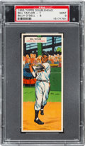 Baseball Cards:Singles (1950-1959), 1955 Topps Doubleheaders Taylor/O'Dell #7/8 PSA MINT 9 - Pop One,None Higher. ...