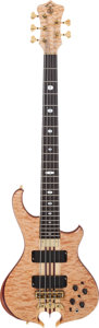 Musical Instruments:Bass Guitars, 2004 Alembic Mark King Signature Natural Electric Bass Guitar, Serial # 06MK13656....
