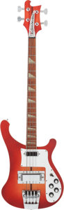 Musical Instruments:Bass Guitars, 1973 Rickenbacker 4001 Fireglo Electric Bass Guitar, Serial # MI4580....