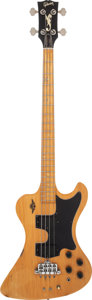 Musical Instruments:Bass Guitars, 1979 Gibson RD-Artist Natural Electric Bass Guitar, Serial # 73409042....