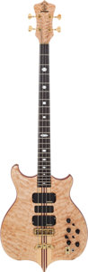 Musical Instruments:Bass Guitars, 2002 Alembic Signature Natural Electric Bass Guitar, Serial #0212879USA....