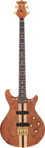Musical Instruments:Bass Guitars, 1980 Moonstone Eclipse Standard Natural Electric Bass Guitar, Serial # 3815....