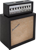 Musical Instruments:Amplifiers, PA, & Effects, 1960's Danelectro DM25 Grey Guitar Amplifier....