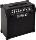 Musical Instruments:Amplifiers, PA, & Effects, 2000's Line 6 Spider IV 15 Black Guitar Amplifier....