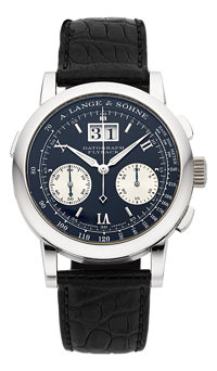 "A. Lange & Söhne Ref. 403.035 Exceptional Platinum ""Datograph, Flyback"" Chronograph"