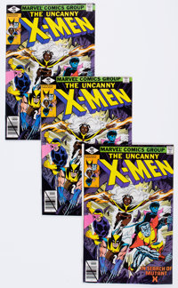 X-Men #126 Multiple Copies Group of 51 (Marvel, 1979) Condition: Average NM-.... (Total: 51 Comic Books)