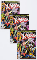 Modern Age (1980-Present):Superhero, X-Men Multiple Copies Group of 132 (Marvel, 1980) Condition:Average NM-.... (Total: 7 Comic Books)