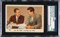 """Baseball Cards:Singles (1950-1959), 1959 Fleer Ted Williams """"Ted Signs for 1959"""" #68 SGC 96 Mint 9 -None Higher..."""