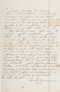 Western Expansion:Cowboy, Deputy Constable's Oath of Louis Bousman, Part of Pat Garrett'sPosse Which Tracked Down Billy the Kid....