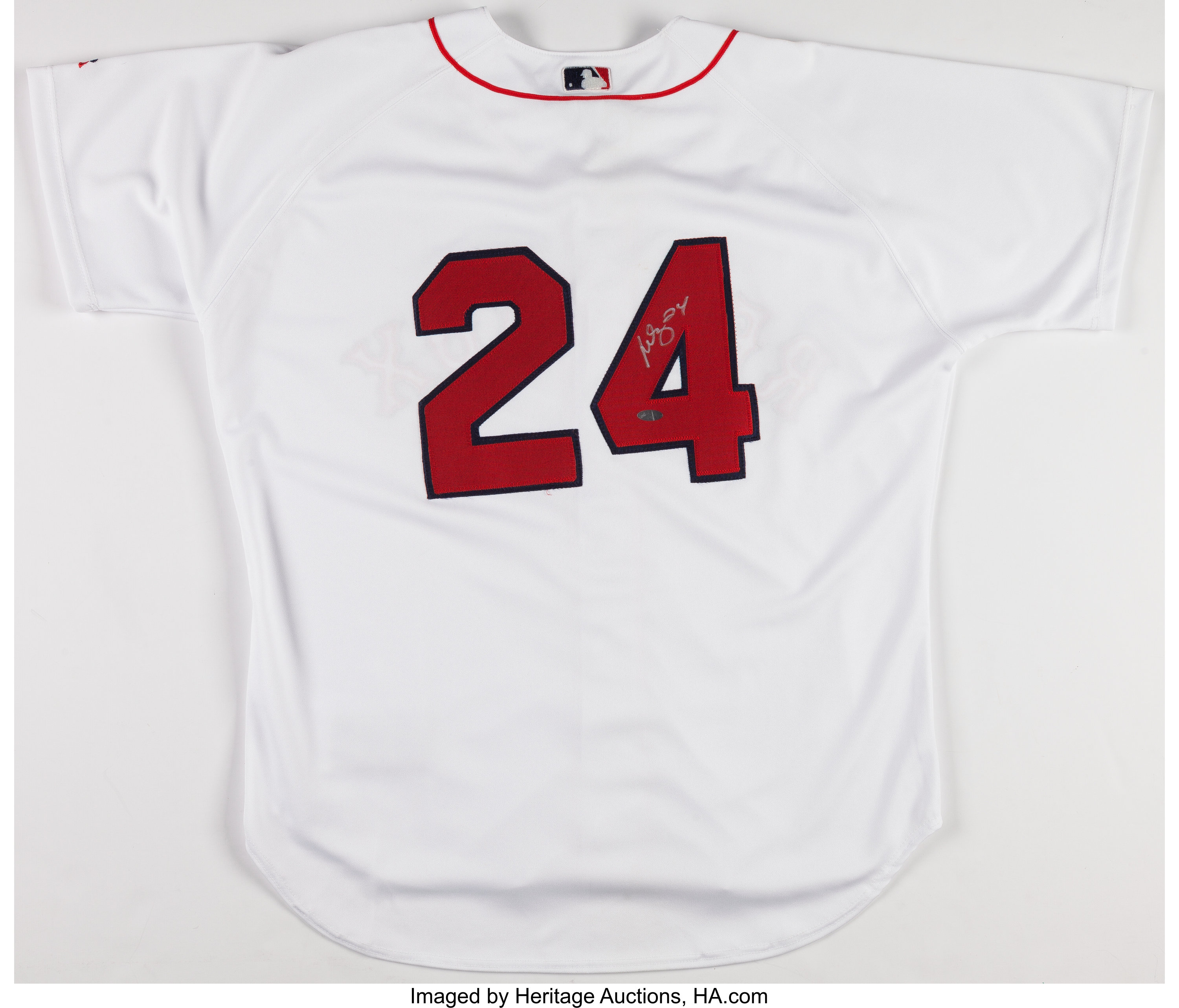 buy online 19f99 dee5d Manny Ramirez Signed Boston Red Sox Jersey.... Baseball ...