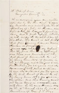 Miscellaneous:Ephemera, John Wesley Hardin is Granted a License to Practice Law in the State of Texas....