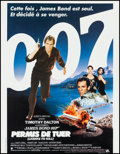 "Movie Posters:James Bond, Licence to Kill (United Artists, 1989). Belgian Poster (15.25"" X19.75""). James Bond.. ..."