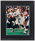 Football Collectibles:Photos, Troy Aikman Signed Oversized Photograph. ...