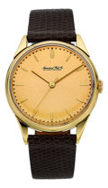 Timepieces:Wristwatch, International Watch Co. 18k Gold Vintage Wristwatch, circa 1949....