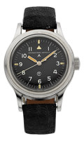 "Timepieces:Wristwatch, IWC Rare British Military RAF ""Mark XI"" Wristwatch, circa 1948. ..."