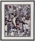 Football Collectibles:Photos, Randy Moss Signed Oversized Photograph....