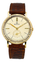 "Timepieces:Wristwatch, Rolex Ref. 4325 14k Gold ""Precision"", circa 1948. ..."