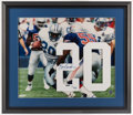 Football Collectibles:Others, Barry Sanders Signed UDA Number Display. ...