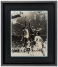 Basketball Collectibles:Photos, Bill Russell and Wilt Chamberlain Multi Signed OversizedPhotograph....