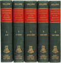 Books:Reference & Bibliography, Joseph Gillow. A Literary and Biographical History, orBibliographical Dictionary of the English Catholics. NewYork... (Total: 5 Items)