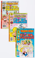 Modern Age (1980-Present):Humor, Richie Rich and Gloria/Richie Rich and His Girlfriends File CopiesBox Lot (Harvey, 1977-82) Condition: Average NM-....