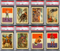 Olympic Cards:General, 1956 Gum Adventure High Grade Complete Set (100) With MaxSchmeling. ...