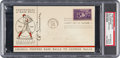 Baseball Collectibles:Others, 1939 Al Simmons Signed Baseball Centennial First Day Cover....