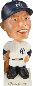 Baseball Collectibles:Others, Early 1960's Mickey Mantle Bobble Head Nodder....