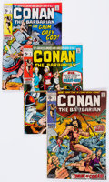 Bronze Age (1970-1979):Adventure, Conan the Barbarian Group (Marvel, 1970-74) Condition: Average VG.... (Total: 28 Comic Books)