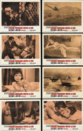 "Movie Posters:Action, From Russia With Love (United Artists, 1963). Lobby Card Set of 8(11"" X 14""). Sean Connery stars as James Bond in the secon...(Total: 8 Items)"
