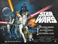 """Movie Posters:Science Fiction, Star Wars (20th Century Fox, 1978). British Quad (30"""" X 40""""). StyleC. While most fans are familiar with the original poster..."""