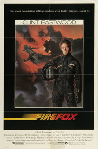"""Firefox (Warner Brothers, 1982). One Sheet (27"""" X 41""""). """"Gant, can you fly that plane? Really fly it? --..."""